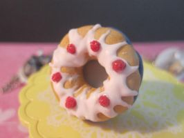 Vanilla Bundt Cake With Berrys by CandyChick