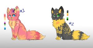 Feline Adoptables AUCTION -  * CLOSED* by Technotiik