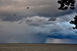 Storm over Lake Eris by TomKilbane