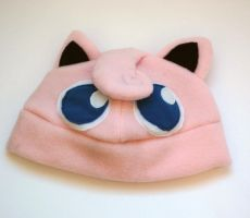 Jigglypuff Hat by J-R-Creations