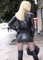 SexyBoots vs SexynanoSkirt.. what do U think?) by KawaiAlex