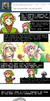 Ask Links - Pickup Lines by pocket-arsenal
