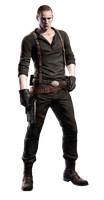 RE6 - Jake Costume 2 - Professional Render by Allan-Valentine