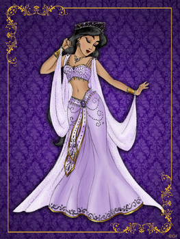 Queen Jasmine- Disney Queen designer collection by GFantasy92