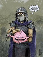Krang and Shredder by Dasha-KO