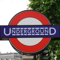 London Underground Sign at Charing Cross by rlkitterman