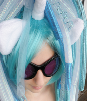 Vinyl Scratch / DJ Pon3 cosplay preview by PinkuArt