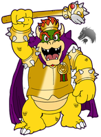 Royal King Bowser by Chibi-Tediz