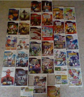 My Wii Game Collection So Far by spi3000