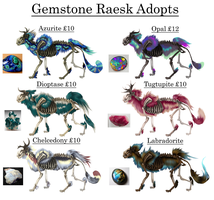 Raesk Adopts [5/5 AVAILABLE] by Elkaii