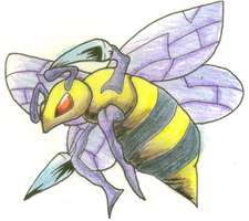 Beedrill by Nevernormal