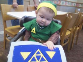 Link in High Chair by Vrendowl-OToole