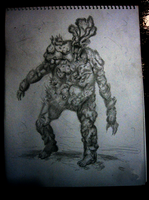 The Last Of Us - Traditional Bloater by iamtheNoNamer