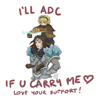 LOVE your SUPPORT! Taric/Ezreal by Sanshikisumire