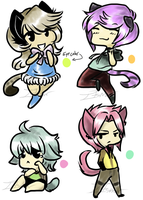 Little Chibi Neko Adopts.:Closed:. by itsmar-Adopts