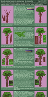 Furcadia: Tree Tutorial by kiraxlee