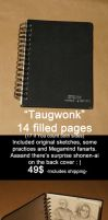 SKETCHBOOK SALE-Taugwonk by Lapis-Razuri