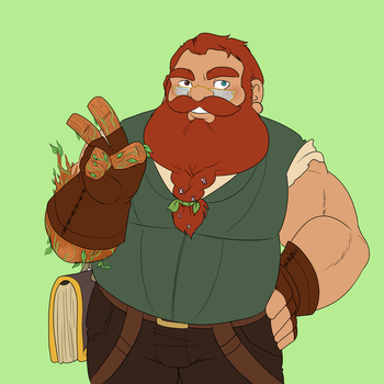 The Adventure Zone - Merle Highchurch by RileyOMalley