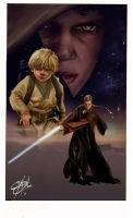 Anakin Skywalker by Shadowgrail