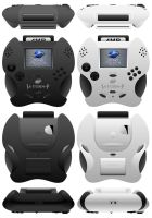 Portable SEGA Saturn Complete View by zentron