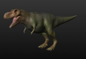 T-Rex Model by arcupion