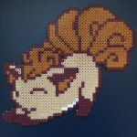 Vulpix Perler (for sale) by claydoodles