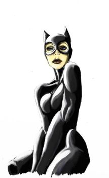 Colored Catwoman by DarkShani