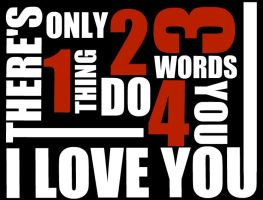 1234 I love you by fluffylink