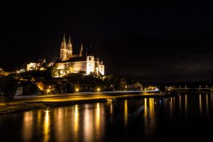 Meissen_at_night by prox83