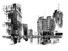 Cass Avenue Station I by DarylAlexsy