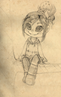 Vanellope by StripedPanther