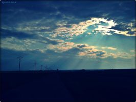clouds and sun by Bette-Inna