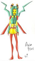 Avia Costume Redesign by Nightstar1231