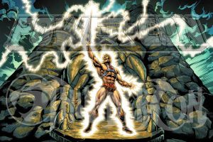 POWERCON/THUNDERCON 2012 He-Man Poster by Tonywash