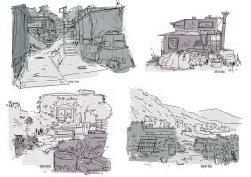 21-24 - Environment Thumbs 01 by Mei-Xing