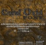 Coral Oxid  font Pawluk by ipawluk