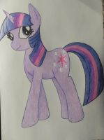 I drew Twilight! by DJ-Sky-Storm-117