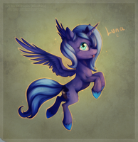 Filly Luna by Miltvain