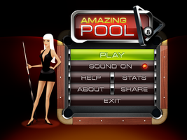Amazing Pool - main menu by VVVp
