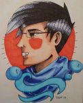 john egbert - traditional tattoo style by MrsJ
