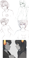 Homestuck doodles and crap by Dragons-Roar