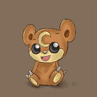 Teddiursa by OxAmy
