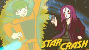 Commission: Mikey - Star Crash with Diamanda Hagan by starlightv