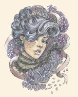 Femenagerie: Lacey Lavender by DoodleLust