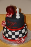 Twilight Series Cake by fallendisasters