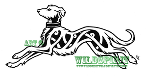 Celtic Hound Logo Design by WildSpiritWolf