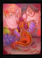 Happy New Year by SenselessJabberwocky
