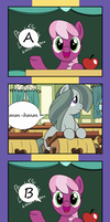 Marble Pie's ABC's (featuring Cheerilee!) by Pony4Koma
