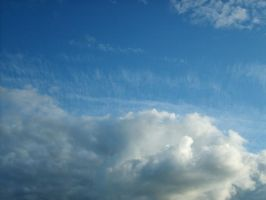 From Below - Clouds 10. by MystStock