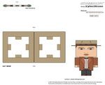 Cubee - 11th Doctor 'Ver4b' by CyberDrone